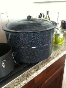 The BIG water bath pot.